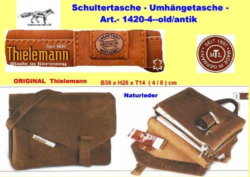 Thielemann by LEFOX, Borsa a tracolla donna -new/antik B38 x H28 x T14 (4+8) cm