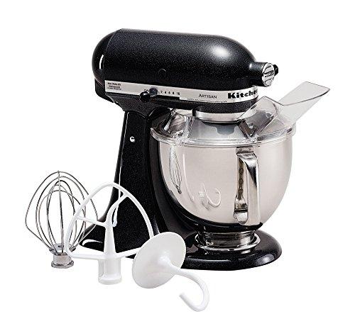 KitchenAid KSM150PSCV Artisan Series 5-Qt. Stand Mixer with Pouring Shield - Caviar