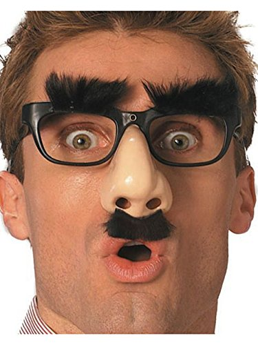 Funny Nose Glasses - Glasses Nose Attached With