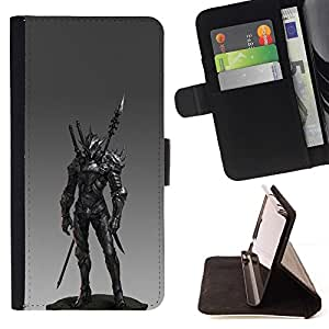 Momo Phone Case / Flip Funda de Cuero Case Cover - Lanza combate Pc Juego Armor - Sony Xperia Z1 Compact D5503