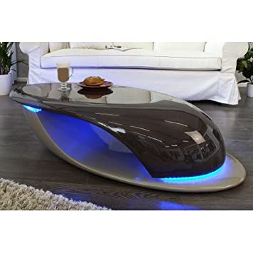 Fibre Basse Verre En Table Cafe Design Avec De Galcé Coloris culK5J3TF1