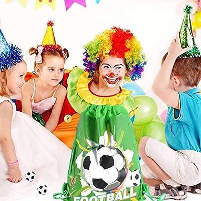 Acewen - Juego de 12 Mini Pelotas de fútbol de plástico, Color ...