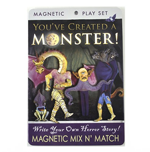 Create Your Own Monster Magnetic Dress Up Doll Play Set