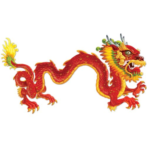 Beistle 57782 Jointed Dragon 6 Feet