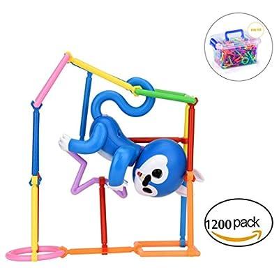 DreamsMAX 1Set Puzzle Bodybuilding Interactive Baby Monkey Climbing Toy For Mini Monkey Kids Gift