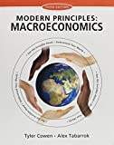 Modern Principles of Macroeconomics and LaunchPad (Six Month Access) 3rd Edition
