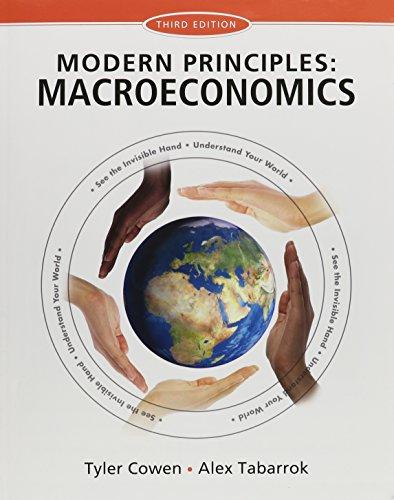 Modern Principles of Macroeconomics & LaunchPad (Six Month Access)