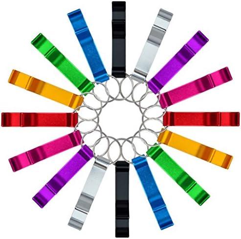 cnomg Colored Keychain Aluminum Beverage