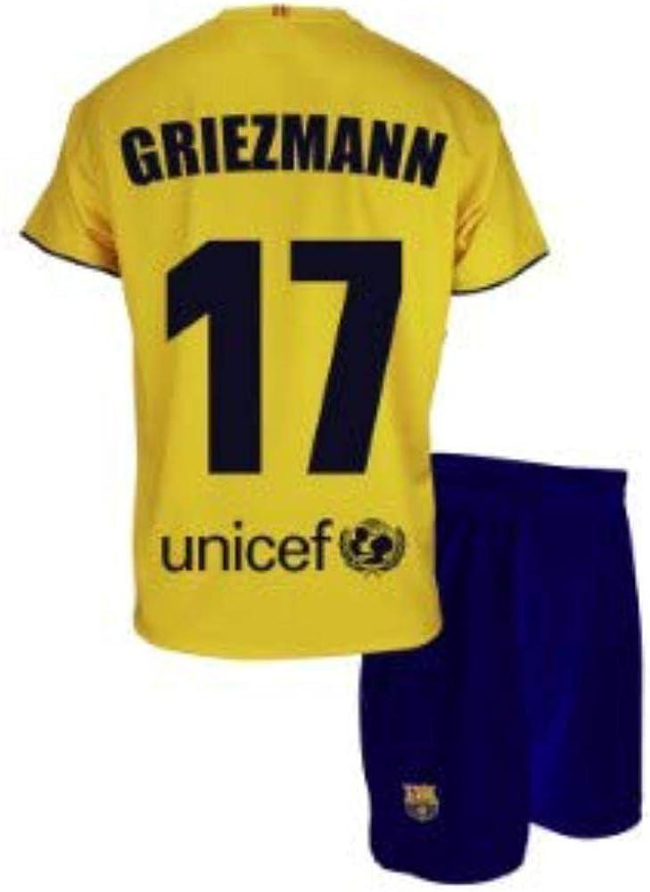 Conjunto Camiseta y pantalón 2ª equipación FC. Barcelona ...