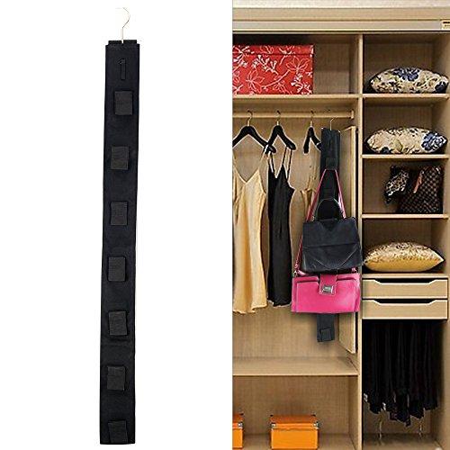 Travelmall Borsa Porta soluzione per borsa Organizer armadio porta borsetta  con ganci f9a6487eac7