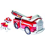 Paw Patrol Marshall's Fire Fightin' Truck/Rescue Marshall (works with Paw Patroller)(Packaging Title Varies)
