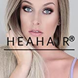 Heahair® Good Quality Handtied Blonde Ombre Straight Affordable Synthetic Ombre Lace Front Wigs for Woman