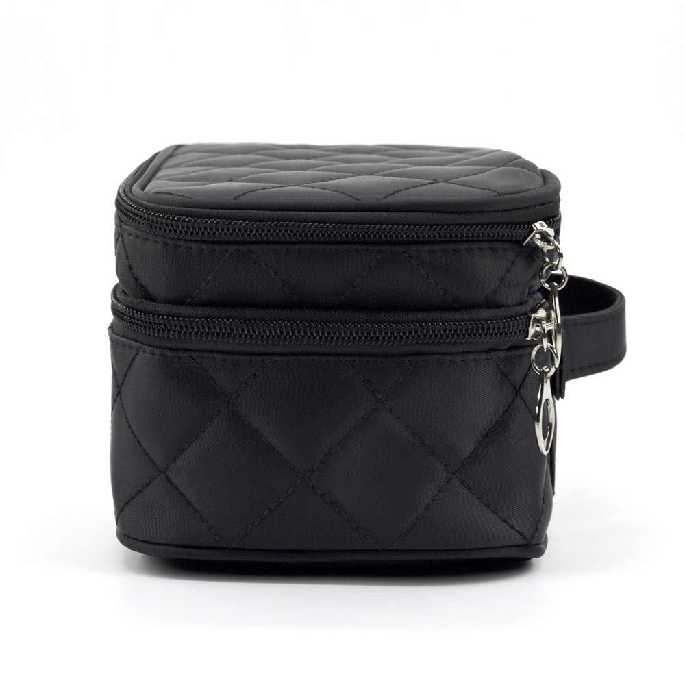 Houdor Travel Makeup Bag,Waterproof & Mini Nylon Makeup Train Cosmetic Case Organizer 9.2\