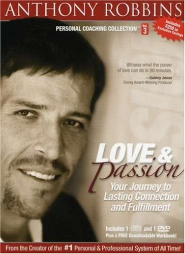 Price comparison product image Anthony Robbins Personal Coaching Collection: Love and Passion - Your Journey to Lasting Connection