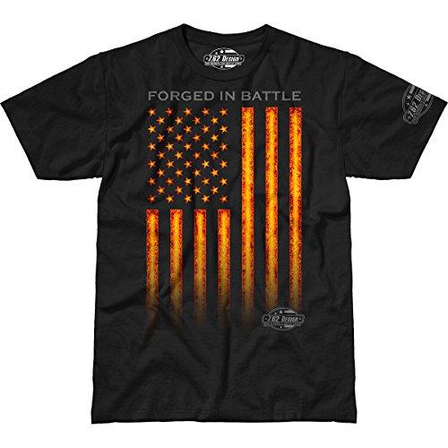 7.62 Design 'Forged in Battle' Premium Men's T-Shirt SM