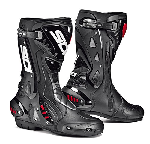 Sidi ST AIR Motorcycle Boots Black US11.5/EU46 (More Size Options) ()
