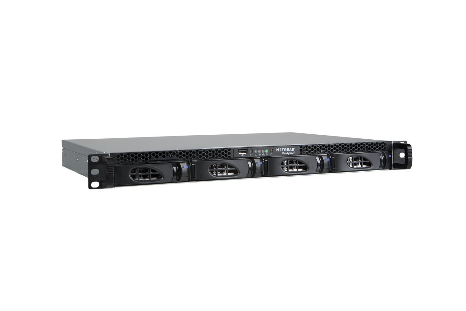 NETGEAR ReadyNAS 2120 1U Rackmount 4-Bay Network Attached Storage, Diskless (RN2120-200NES)