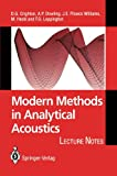 img - for Modern Methods in Analytical Acoustics: Lecture Notes book / textbook / text book