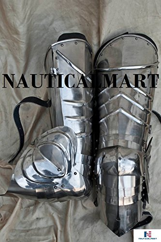 SCA combat leg armor, plate legs, cuisses with poleyns by NAUTICALMART (Image #1)
