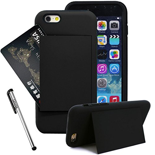 Urvoix(TM) Dual Layer Armor Shield Hybrid Stand Case Cover for 4.7'' iPhone 6 (NOT for iPhone 6Plus)