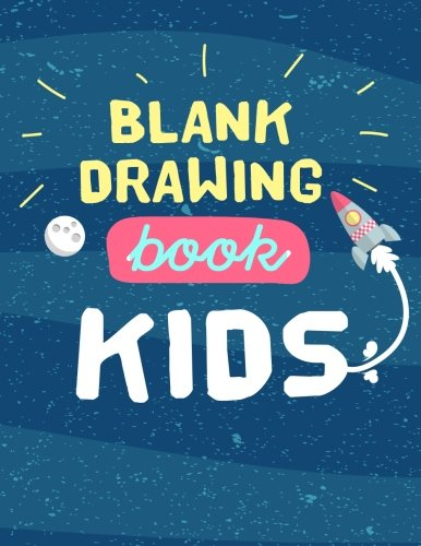 Blank Drawing Book Kids: Graph Paper Notebook, 8.5 x 11, 120 Grid Lined Pages (1/4 Inch Squares)