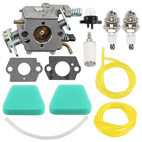 Coolwind 545081885 Carburetor Tune Up Kit for Poulan 2150LE Predator 2155 2175 2350 2375 2375LE 2450 2550 2550LE 2550SE 262 PP210 PP260 PPB1838LE S1634 Snapper S1838 SM4018 Chainsaw