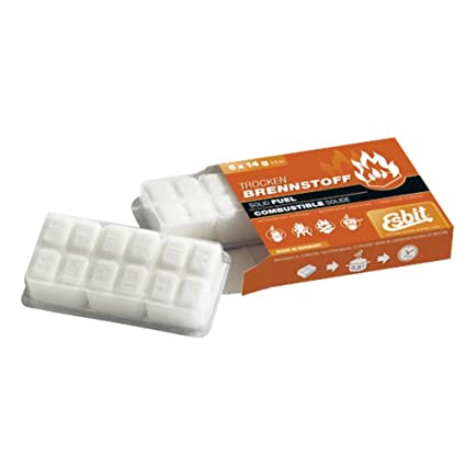 Amazon.com   Esbit Solid Fuel Tablets - 6 x 14g   Sports   Outdoors c816f289a85