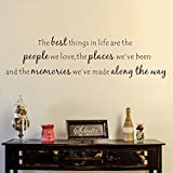 Best Things In Lives - Wall Decal Decor Best Things In Life Wall Review