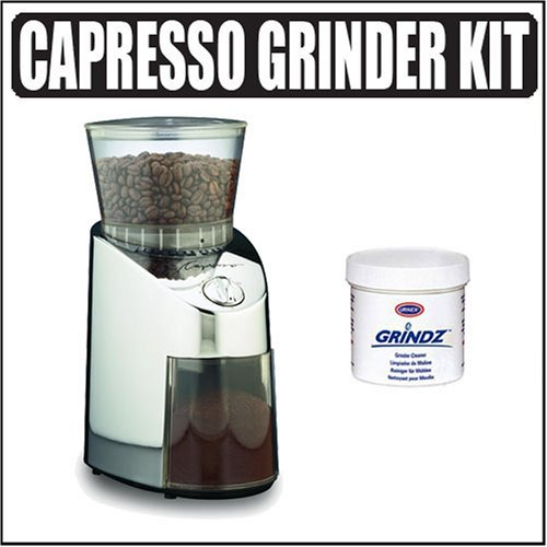 Capresso 565.05 Infinity Conical Burr Grinder, Stainless Steel Review