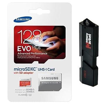 Amazon.com: Samsung Evo Plus 128 GB MicroSD XC Clase 10 UHS ...