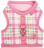 Pinkaholic New York Kayla Pinka Harness for Dogs, Pink, Medium, My Pet Supplies