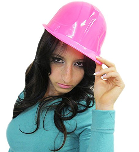 Construction Hat for Adults – Plastic Hard Hats – Party Hats for Adults by Funny Party Hats