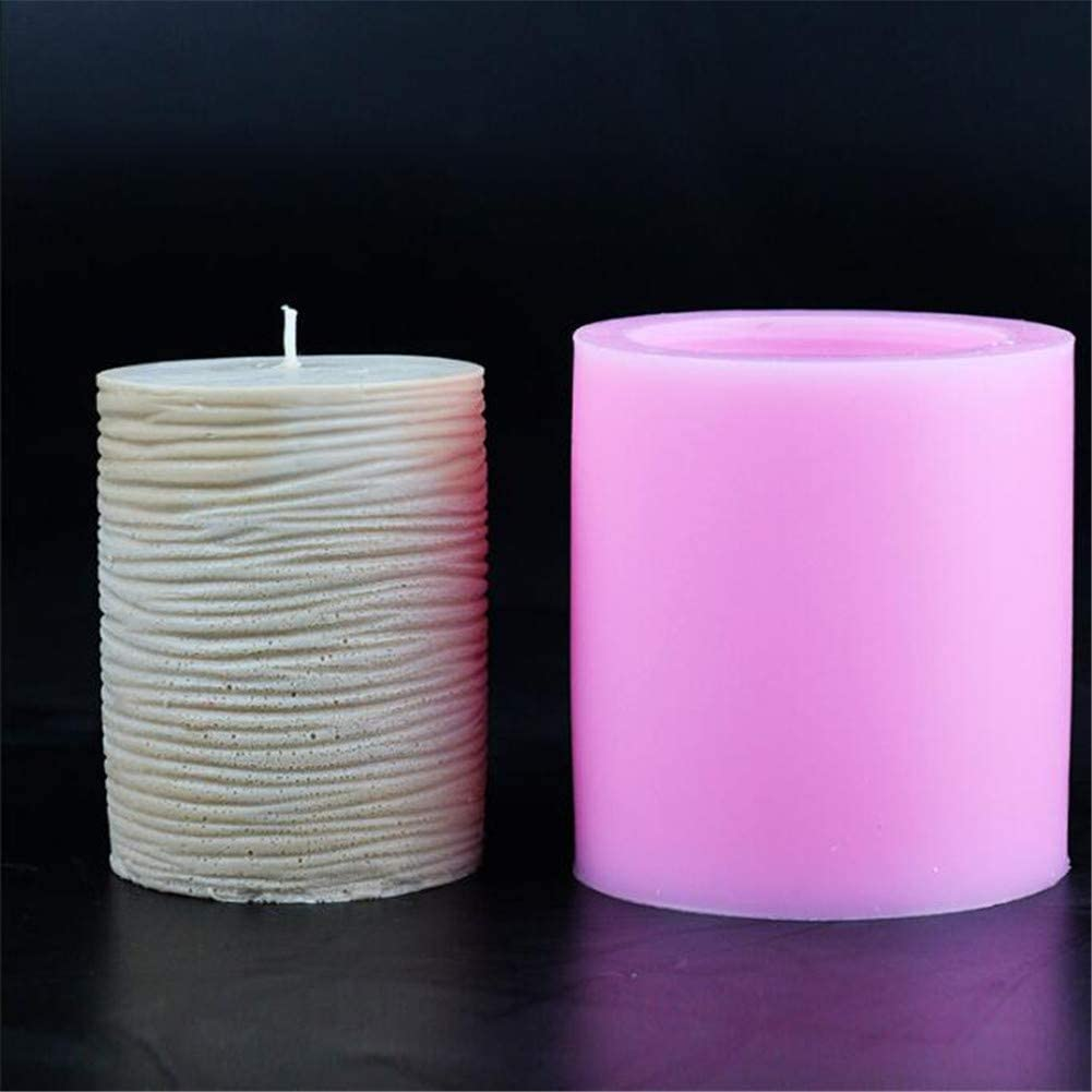 Kerze Schokolade Fondant Polymer Backform Aromatherapie Unique WElinks 3D-Silikon-Form f/ür Kerzen Dekoration Seife Ton B Gips Kuchendekoration