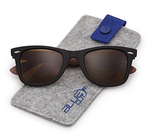 Stylish 80th Retro Unisex Polarized Sunglasses UV400 Classic Vintage ()