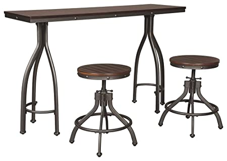 Signature Design by Ashley D284-113 Odium Dining Table Gray
