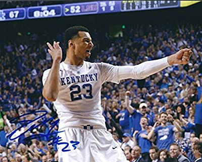 Autographed Jamal Murray Kentucky Wildcats 8x10 Photo W/coa