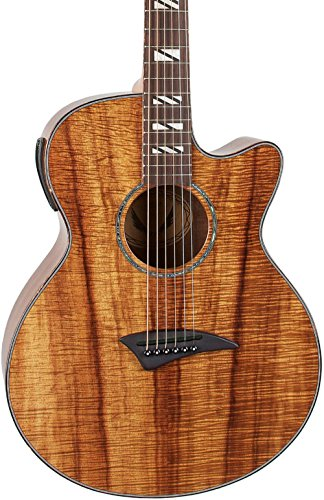 dean performer koa acoustic electric guitar with aphex guitars. Black Bedroom Furniture Sets. Home Design Ideas