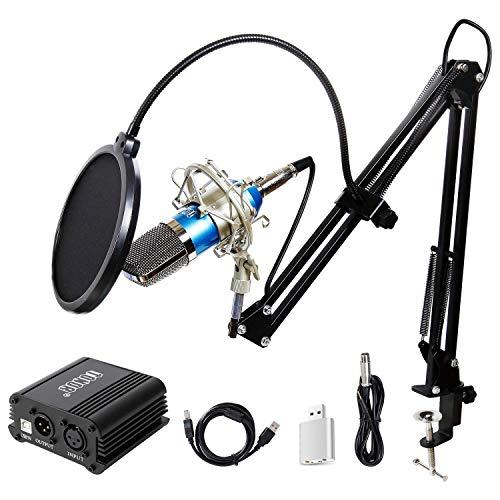 TONOR Pro Condenser Microphone XLR to 3.5mm Podcasting Studio Recording