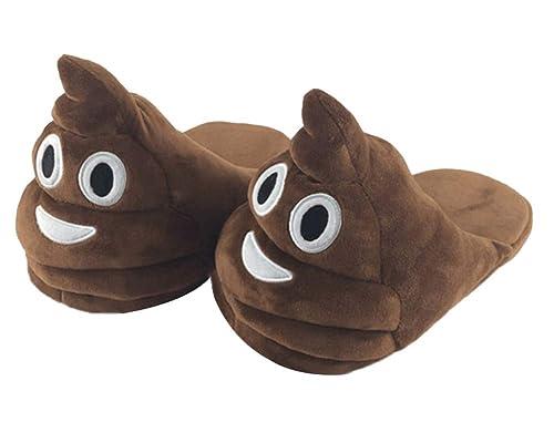 Unisexo Emoji Emoticon Zapatillas Cómodo Suela Térmica Zapatillas De Estar por Casa para Indoor Navidad,Halloween,Festival 1 35/39 EU: Amazon.es: Zapatos y ...