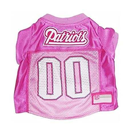 Amazon.com   England Patriots Pink Dog Jersey - Small   Pet Supplies 06a59db5c