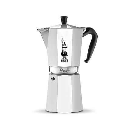 Bialetti 1167 Moka Express Export Espresso Maker Silver