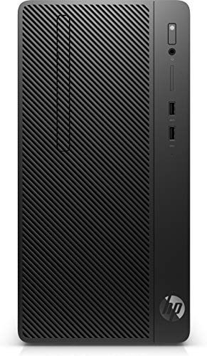 HP 290 G3 9th gen Intel® Core™ i5 i5-9500 8 GB DDR4-SDRAM 256 GB SSD Micro Tower Black PC Windows 10 Pro
