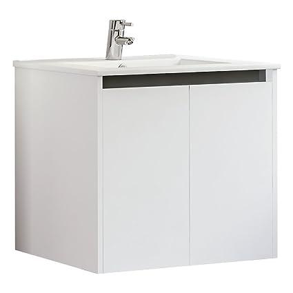 24 Inch Bathroom Vanity Cabinet Set, White | Floating Bathroom ... Bathroom Vanity Cabinets With Tops on bathroom granite tops, giallo ornamental granite vanity tops, bathroom vanities,