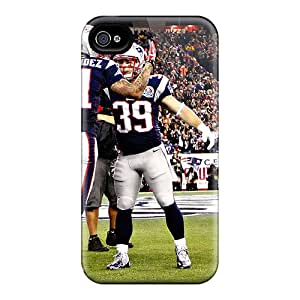 Premium Tpu New England Patriots Players Cover Skin For Iphone 4/4s
