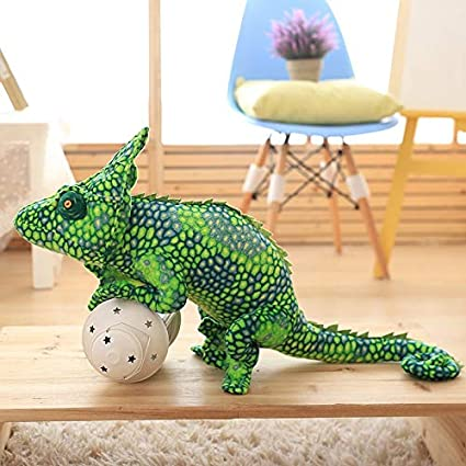 Amazon.com: Almohada de felpa gigante Kawaii Lizard juguetes ...