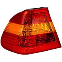 Drivers Taillight Tail Lamp with Red & Amber Lens Replacement for BMW 63216946533