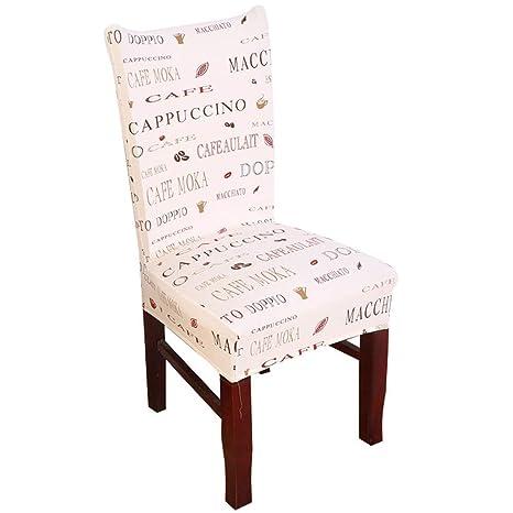 Cubiertas para sillas Muy fácil de Limpiar Duradera- Vistoso ...