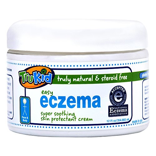 TruKid Easy Eczema Cream - Soothing and Healing Relief Therapy for Sensitive...