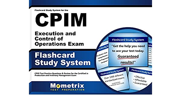 Flashcard Study System for the CPIM Execution and Control of