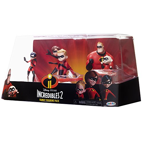 The Incredibles 2, 5 Piece Family Figure Set Comes with (Mr./Mrs. Incredible, Violet, Dash, Jack Jack) by The Incredibles 2 (Image #4)